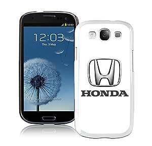 Personalized Case Honda logo 1 Samsung Galaxy S3 I9300 Case in White