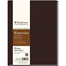 "Strathmore 467-8 400 Series Hardbound Watercolor Art Journal, 8.5""x11"" 24 Sheets"