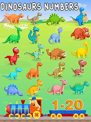 Dinosaurs Learning Numbers Counting from 1-20 on Amazon Prime Video UK