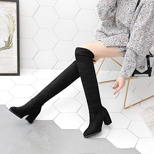 Boots Singole Donna Moda Stivali Scarpa Donna Ragazza Tacchi Shoes z7nIn