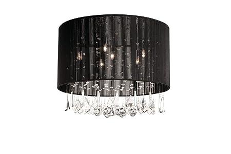 Massive 369763010 iluminación de techo Negro G9 Halógeno 28 ...