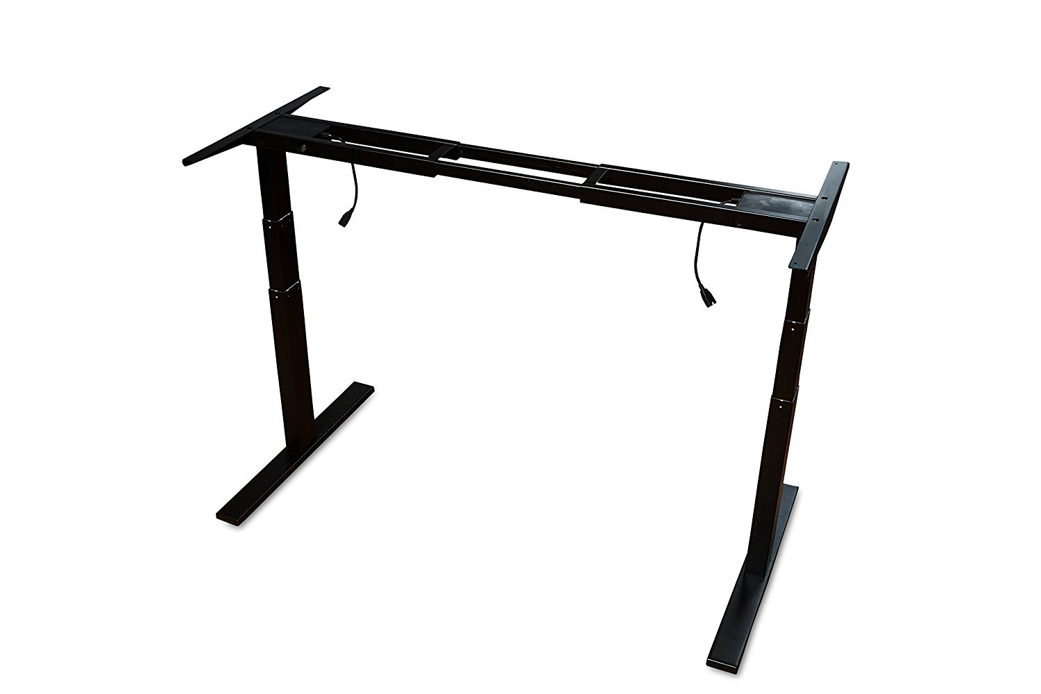 Ergopose''EPO'' Standing Ergonomic Electric Height-Adjustable DIY Desk Frame Workstation in Black (Top not Included) by EP ERGOPOSE
