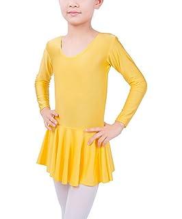 Happy Cherry - Maillot Traje de Danza Latino Vestido de Baile Ballet Tutú Infantil  para Niñas 3069bf0a155
