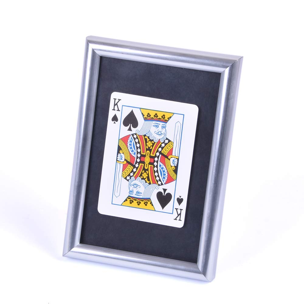 Doowops Signed Card Thru The Frame Magic Tricks Signed Card Appear Inside Frame Magic Magician Stage Gimmick Prop Illusion Mentalism Fun by Doowops