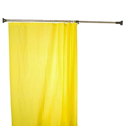 Image Unavailable Not Available For Color BAOYOUNI 294mm Expandable Shower Curtain Tension Rod