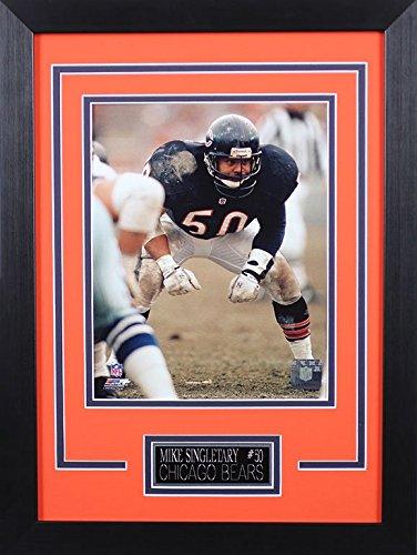 Mike Singletary Framed 8x10 Chicago Bears Photo - Chicago Photo Bears Team