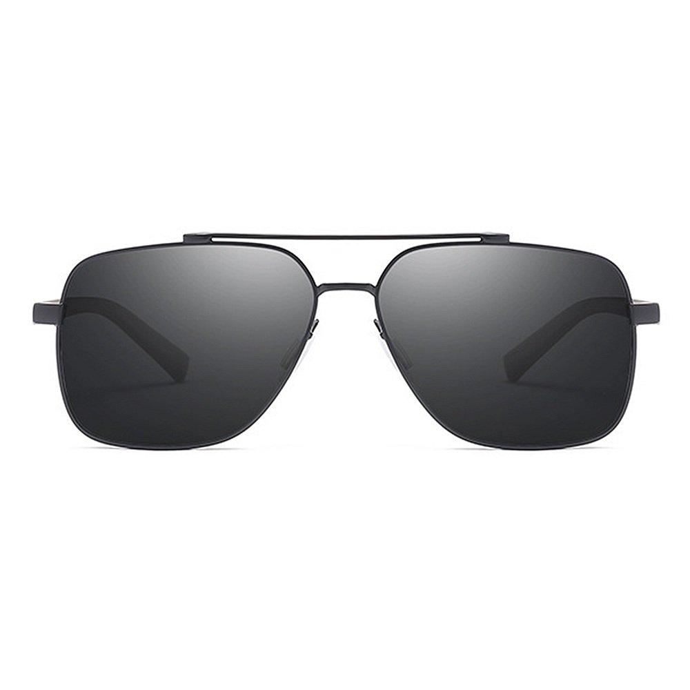 Gafas metal de sol sol polarizadas de los de hombres clásicos ...