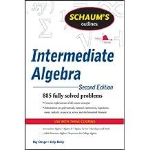 Amazon intermediate algebra kindle store schaums outline of intermediate algebra second edition schaums outlines fandeluxe Gallery