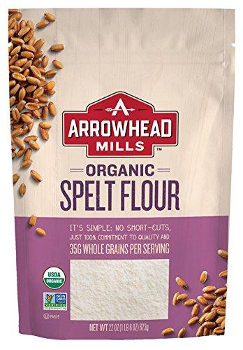 Arrowhead Mills Organic Spelt Flour, 22 Ounce (Pack of 6)