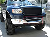 2005 ford f150 grille insert - 2004-2005 FORD F150 LOWER Bumper Grille Insert (Gloss Black Finish)