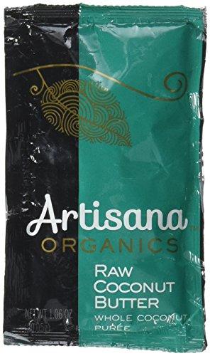 Artisana Artichoke Sana Nut Butter Coconut Raw Squeeze Pack Organic, 1.06 oz