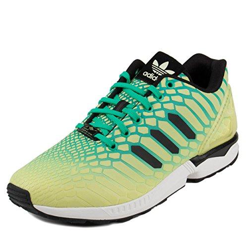 efd0c3caeac6 Galleon - Adidas ZX Flux Men s Shoes Frozen Yellow Shock Mint White Aq8212  (13 D(M) US)