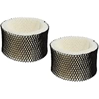 Best Vacuum Filter 2 Pack Compatible with Holmes HWF62 (A) Humidifier Wick Filter for Holmes, Sunbeam, Bionaire, Replaces Part # HWF62CS