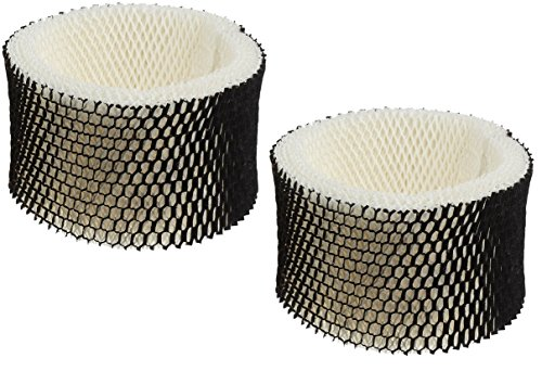 2 Pack Holmes HWF62 (A) Humidifier Wick Filter for Holmes, Sunbeam, Bionaire, (Sunbeam Humidifier Parts)