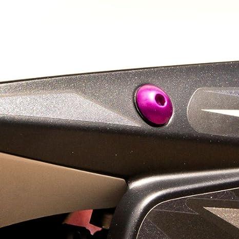 Kit visserie car/Ã/©nage en aluminium SV650 S Sport 08 Orange