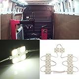 AUDEW-40-Led-White-Interior-Lights-Kit-For-LWB-Van-Trailer-Lorries-Sprinter-Ducato-Transit-VW