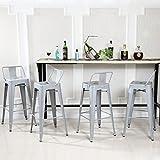 Kitchen Bar Stools with Backs Belleze 30