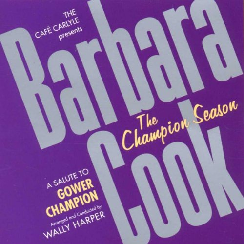 COOK, BARBARA - THE CHAMPION SEASON
