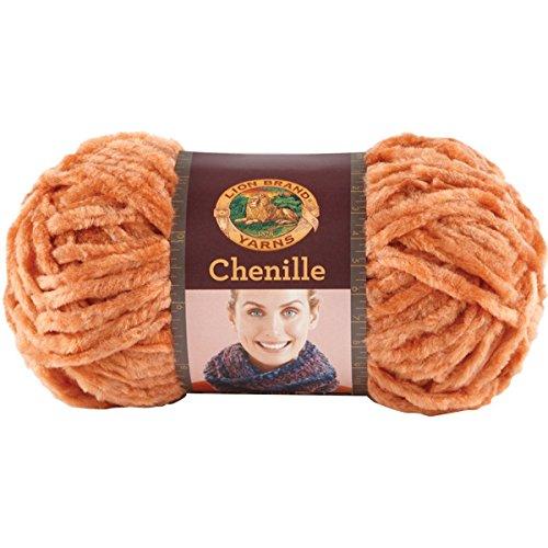 Bulk Buy: Lion Brand Chenille Yarn Terracotta 531-134 (3-Pack)