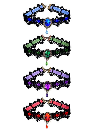 Mudder Choker Gothic Necklace Pendant