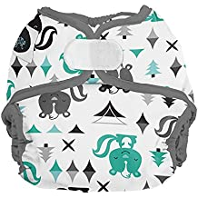 Imagine Baby Products Newborn Diaper Cover, Hook & Loop, Lil Stinker