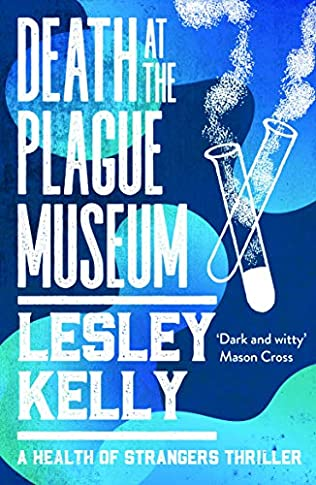 book cover of Death at the Plague Museum