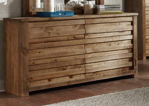 Progressive Furniture P604-23 Melrose Drawer Dresser, 62