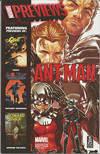 Marvel Previews Ant-Man on cover SDCC San Diego Comic-Con Preview Comic Book from Marvel