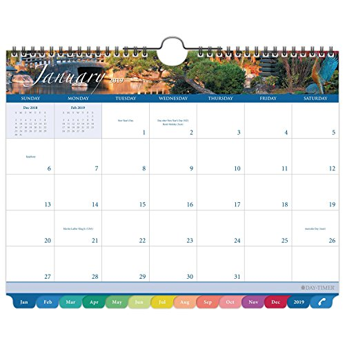 Day-Timer 2019 Monthly Wall Calendar, 11