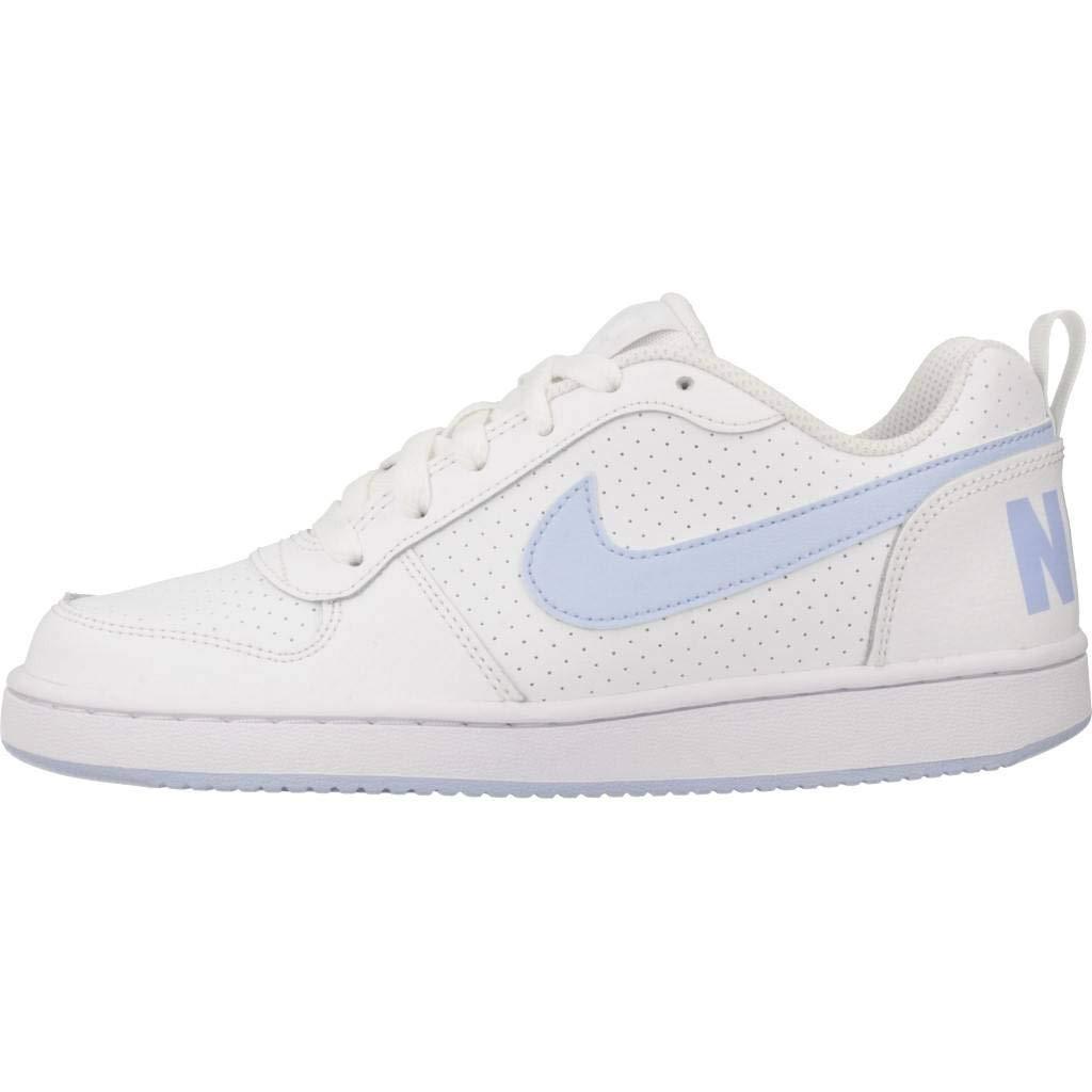 Nike Damen Court Borough Low (Gs) Fitnessschuhe weiß: Amazon