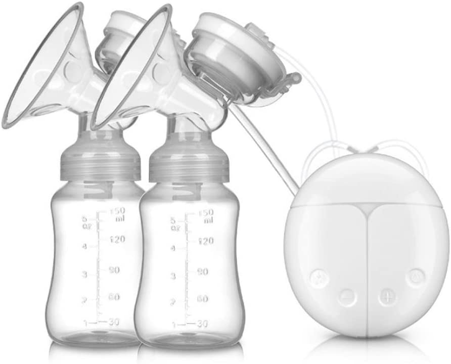 Extractor de leche materna el/éctrico STRIR Dual Mama Bomba autom/ática masaje postparto prolactina Blanco