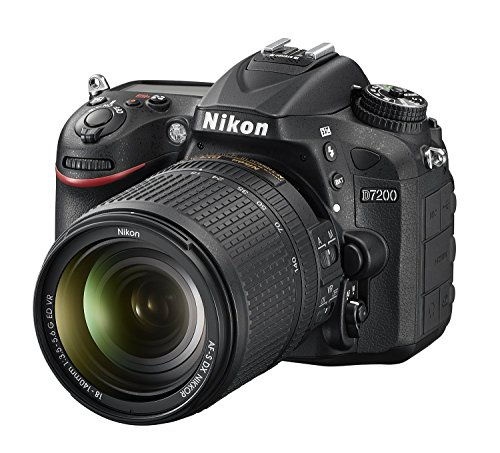 Nikon D7200 24.2 MP Digital SLR Camera (Black) with AF-S 18-140mm VR Kit Lens and 16GB Card, Camera Bag 5