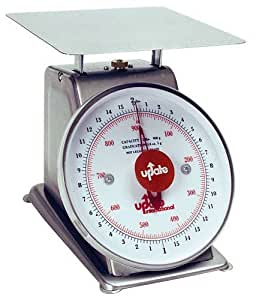 Update International (UPS-75) 5 Lb S/S Analog Portion Control Scale by Update International