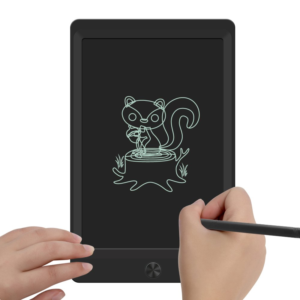 LCD Writing Tablet,Sunany 8.5'' Drawing Tablet Gift for Kids and Adults, Electronic Writing and Drawing Board Doodle Board at Home,School and Office (Black) by SUNANY