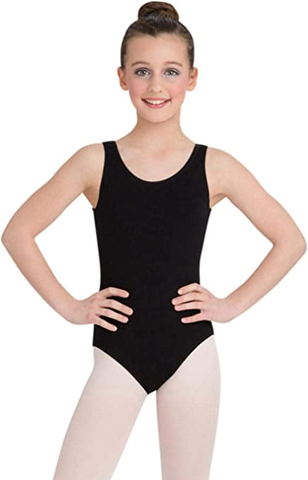 Girls' Classic High-Neck Tank Leotard