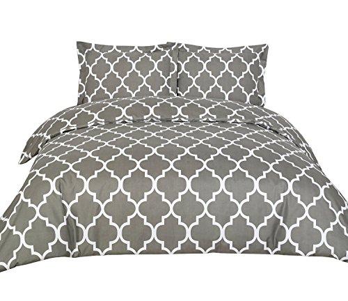 Fantastic Deal! Utopia Bedding Printed Duvet Cover Set with 2 Pillow Shams