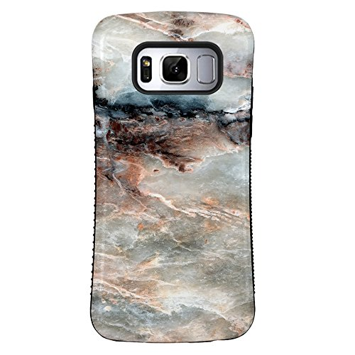 Galaxy S8 Case, ZUSLAB Pattern Design, Shockproof Armor Bumper, Heavy Duty Protective Cover for Samsung Galaxy S8 (Color Stone)