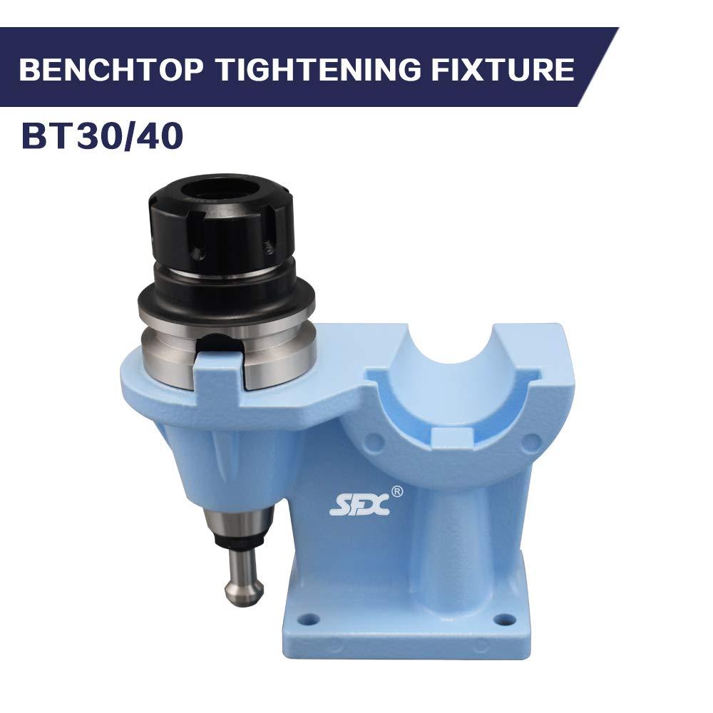 Cast Aluminum Tightening Fixture for BT40 Tool Holder