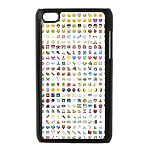 Brand New Case for iPod touch4 w/ Emoji image at Hmh-xase