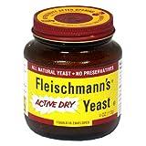Fleischmann's Yeast, Regular, 4-Ounce Jars (Pack of 3)