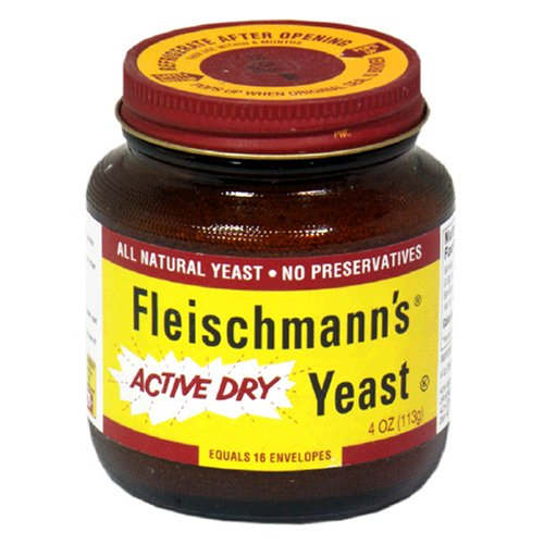 Fleischmann's Regular Ady Jar, 4-Ounce (Pack of three)
