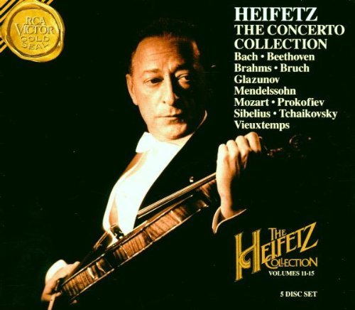 Concerto Collection 11-15 by Heifetz, Jascha (1997-06-17)