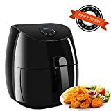 Air Fryer XL 3.7 QT,Electric Air Fryer Non-stick Multi-Cooker Oilless Cooker,1350W (3.5L Air Fryer)