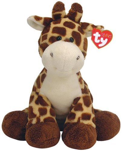 Ty Pluffies Tiptop The Giraffe - 9