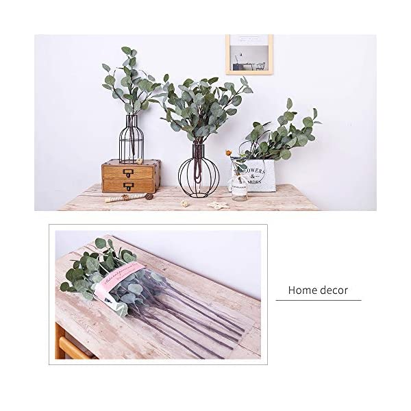 YUYAO-Artificial-Plants-Silver-Dollar-Eucalyptus-Leaves-6Pcs-Leaf-Silk-Artificial-Greenery-Stems-Fake-Plants-Leaves-for-Home-Wedding-Party-Decoration