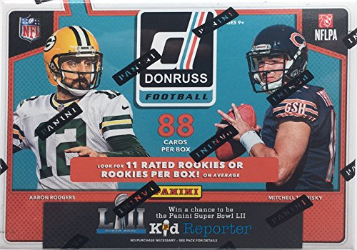 (2017 NFL Donruss Football Cards Factory Sealed Panini Retail Box!)