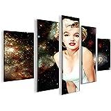 Marilyn monroe v15 5 5 quadri moderni su tela pronti da appendere montata su pannelli in - Quadri da appendere in cucina ...