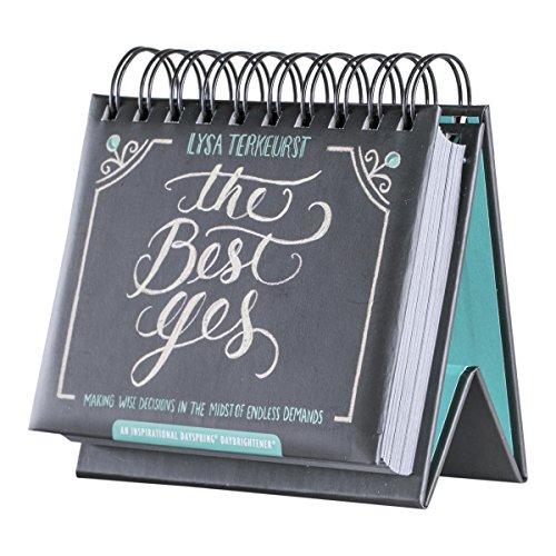 Flip Calendar - The Best Yes (The Best Yes Lysa Terkeurst)