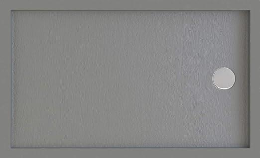 Plato de Ducha Resina Contact (Blanco, 80 X 80): Amazon.es: Hogar