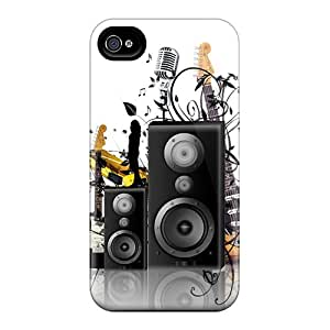Iphone Cover Case - Shutterstock Music Protective Case Compatibel With Iphone 4/4s